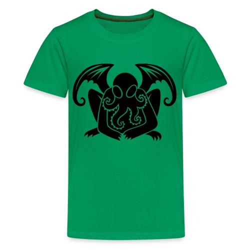 Cthulhu Kid's Shirt in Green - Kids' Premium T-Shirt