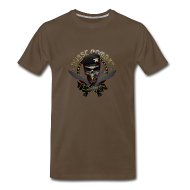 T-Shirts ~ Men's Premium T-Shirt ~ Skull & Cigar Big Boy Tee