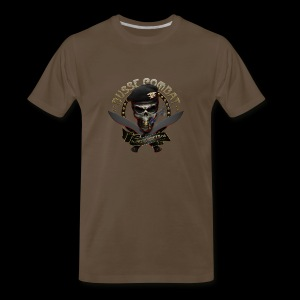 Skull & Cigar Big Boy Tee - Men's Premium T-Shirt