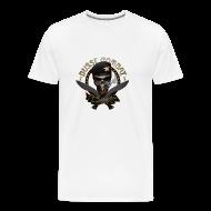 T-Shirts ~ Men's Premium T-Shirt ~ Skull & Cigar Mens Tee