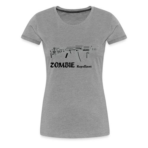 Zombie Repellant Shirt for Women - Women's Premium T-Shirt