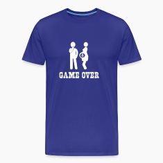 Pregnant. Game Over T-Shirts