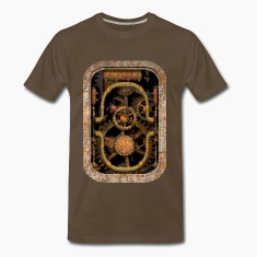 Rusty and Grungy Steampunk Machinery T-shirt