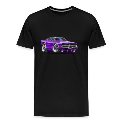 Purple Charger - Men's Premium T-Shirt