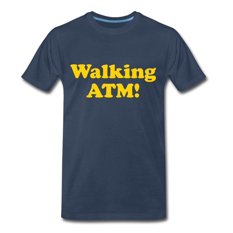 walking atm t shirt spreadshirt