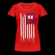 T-Shirts ~ Women's Premium T-Shirt ~ x's & stripes