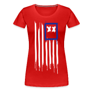 T-Shirts ~ Women's Premium T-Shirt ~ x's & stripes