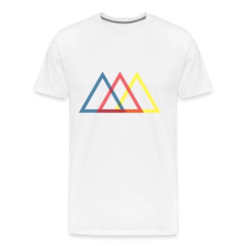 Triangles - Men's Premium T-Shirt