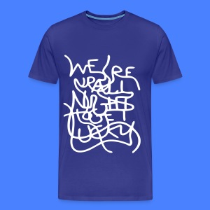 We're Up All Night To Get Lucky T-Shirts - Men's Premium T-Shirt