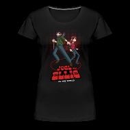 Women's T-Shirts ~ Women's Premium T-Shirt ~ Joe and Ellie VS. the World