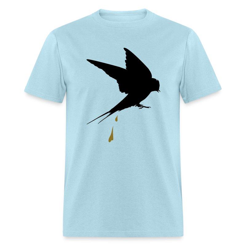 Ladies T Shirt Ford Mustang Pony Tri Bar Design Women S: Captive Bird Poop T-Shirt