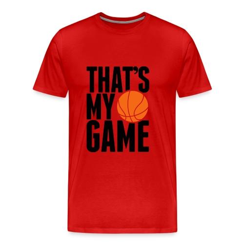 Mens basketball Tee - Men's Premium T-Shirt