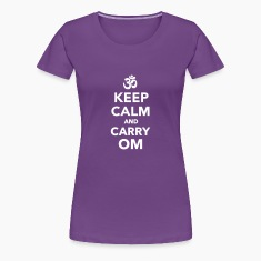 Keep calm and carry om Women's T-Shirts