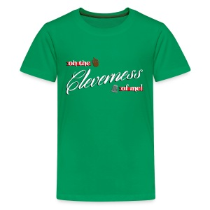 Kid's Cleverness - Kids' Premium T-Shirt