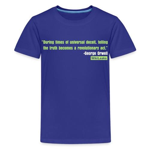 quote3_orig - Kids' Premium T-Shirt