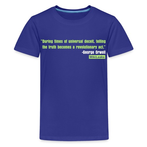 quote3_orig - Kids' Premium T-Shirt