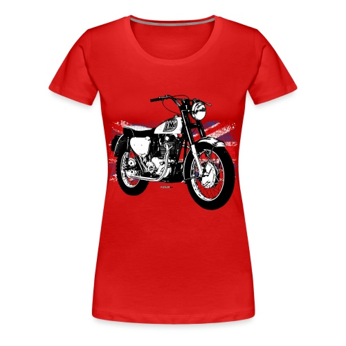 Triumph With Flag - Women's Premium T-Shirt
