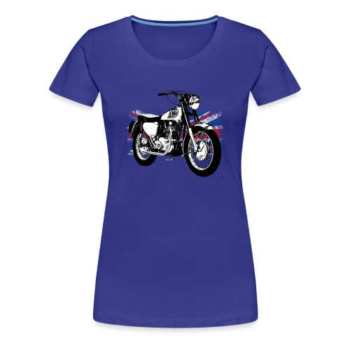 Triumph With Flag - Women's Premium T-Shirt