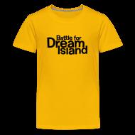 Kids' Shirts ~ Kids' Premium T-Shirt ~ BFDI Logo (Light)
