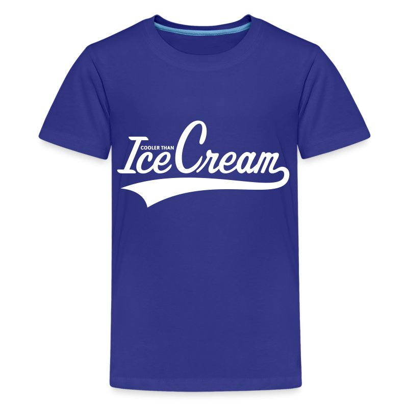 cooler than ice cream t shirt spreadshirt. Black Bedroom Furniture Sets. Home Design Ideas