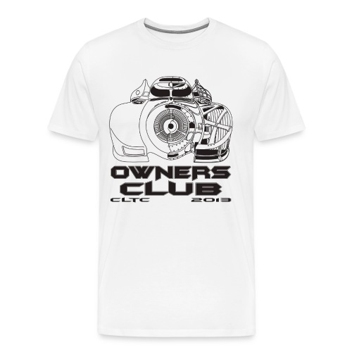Black Owners HW Front Gildan - Men's Premium T-Shirt
