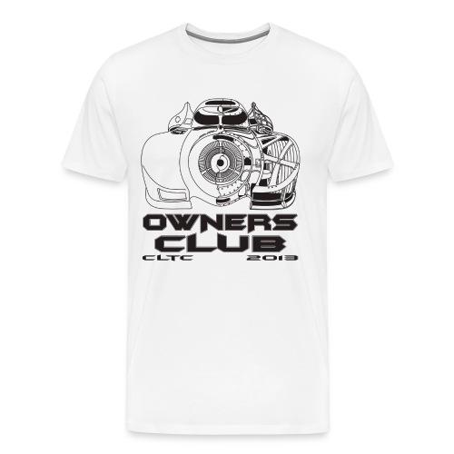 Black Owners HW Front Gildan - Men's Premium T-Shirt