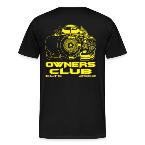 Yellow Owners HW Back Gildan - Men's Premium T-Shirt