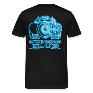 Neon Owners HW Back Gildan - Men's Premium T-Shirt