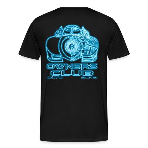 Neon Owners HW Back Gildan - Men's Premium T-Shirt