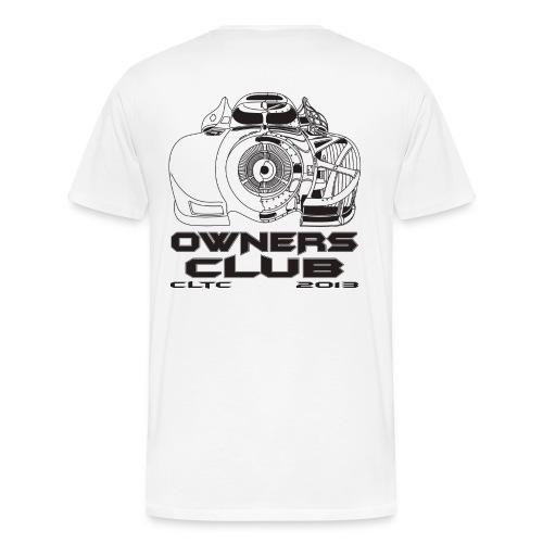 Black Owners HW Back Gildan - Men's Premium T-Shirt