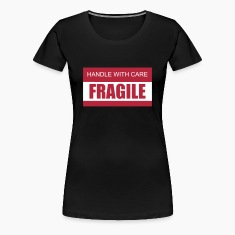 Handle with Care / Fragile 2c Women's T-Shirts
