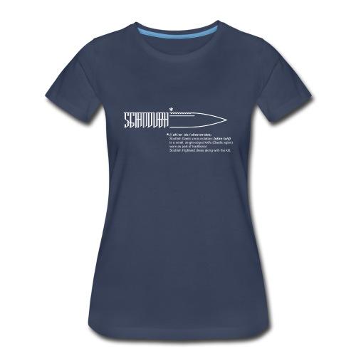 Sgian Dubh - Girlz - Women's Premium T-Shirt