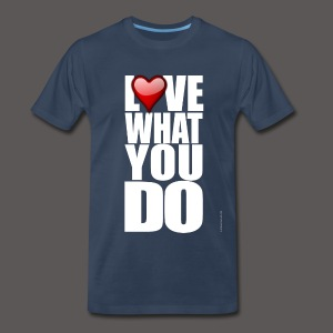 LOVE 2 - Men's Premium T-Shirt