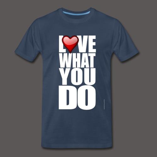 LOVE 2 - Men's Premium T-Shirt