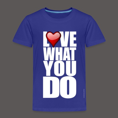 LOVE 2 - Toddler Premium T-Shirt