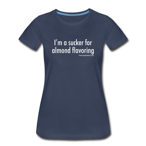 Almond Flavoring (white) - Women's Premium T-Shirt
