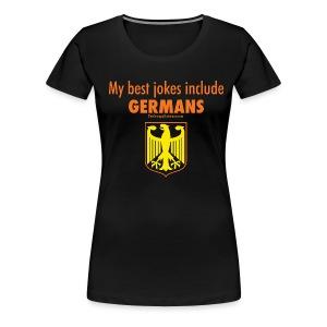 Germans - Women's Premium T-Shirt