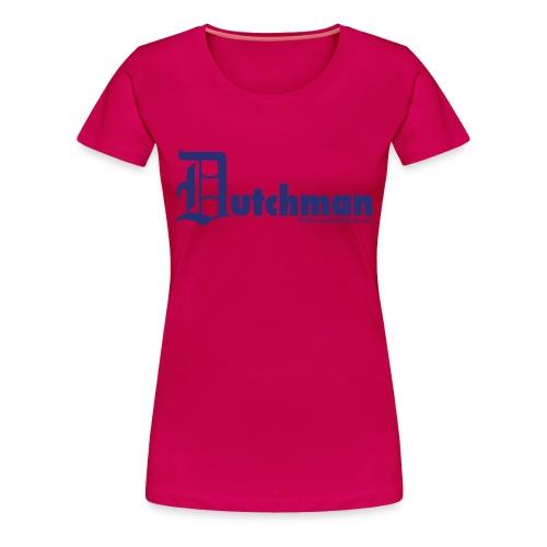 Old E Dutchman (blue) - Women's Premium T-Shirt