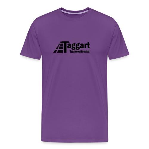 Taggart Transcontinental Tracks - Men's Premium T-Shirt