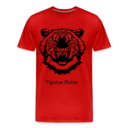 Tigorus Rules Tee - Men's Premium T-Shirt