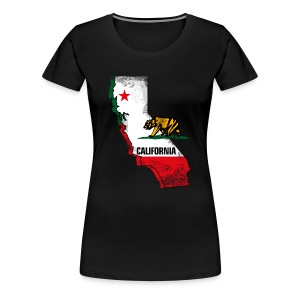 California - Women's Premium T-Shirt