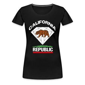 California Diamond - Women's Premium T-Shirt