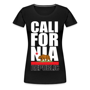 California Republic - Women's Premium T-Shirt