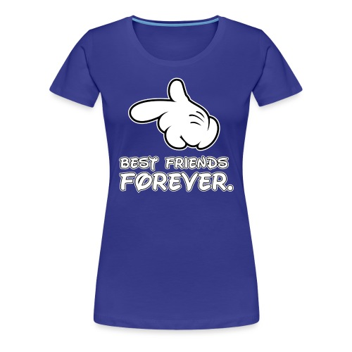 best friends forever - Women's Premium T-Shirt