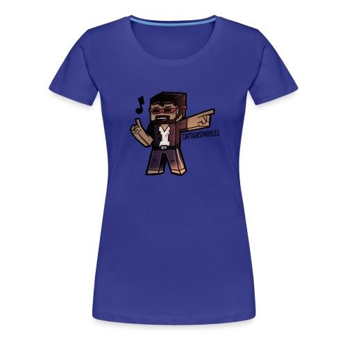 Captain Sparklez - Women's Premium T-Shirt