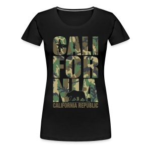 California Camouflage - Women's Premium T-Shirt