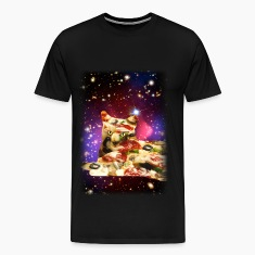 Pizza Cat in Space Shirt