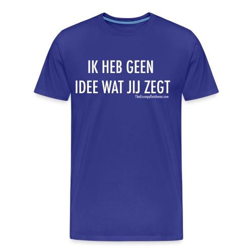 Translation (white) - Men's Premium T-Shirt