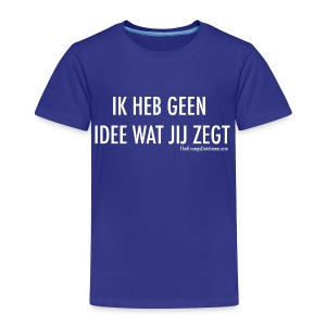 Translation (white) - Toddler Premium T-Shirt