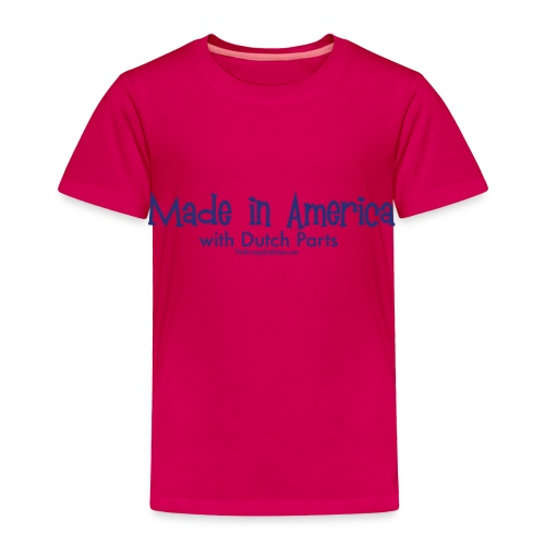 Dutch Parts (blue) - Toddler Premium T-Shirt